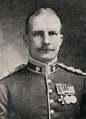 Colonel Ewen George Sinclair-maclagan Art Print by Vintage Design Pics