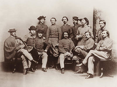 Colonel Wall Art - Photograph - Colonel John Mosby - Mosby's Rangers Photo - Civil War by War Is Hell Store