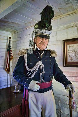 Photograph - Colonel Leavenworth - Fort Atkinson by Nikolyn McDonald