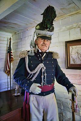 Photograph - Colonel Leavenworth - Fort Atkinson by Nikolyn McDonald