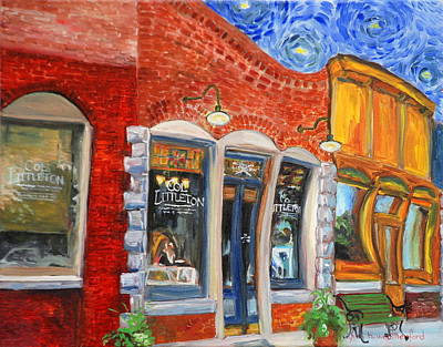 Charming Town Painting - Colonel Littleton Of Lynnville Tn  by Lynn Weatherford