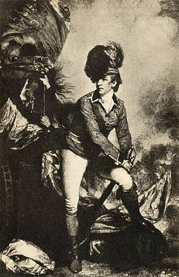 Reynolds Drawing - Colonel Sir Banastre Tarleton 1754 To by Vintage Design Pics