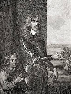 Colonel Sir John Hutchinson 1615 - 1664 Art Print
