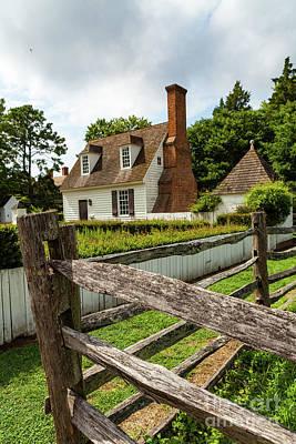 Colonial America Home Art Print