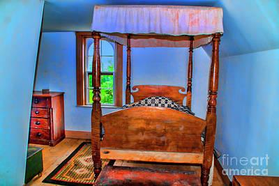 Photograph - Colonial Bedroom by Rick Bragan