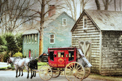 Photograph - Colonial Connecticut by Diana Angstadt