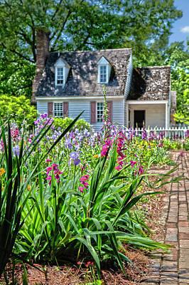 Photograph - Colonial Garden1 by Charles Warren