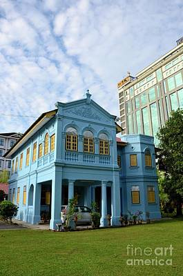 Photograph - Colonial House And Lawn Of True Jesus Church Ipoh Malaysia by Imran Ahmed