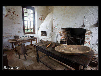 Colonial Kitchen Art Print by Mark Currier