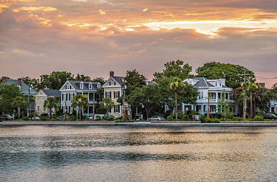 Photograph - Colonial Lake Charleston Sc by Donnie Whitaker