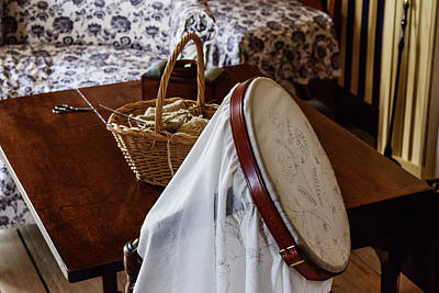 Photograph - Colonial Needlework by Nicole Lloyd