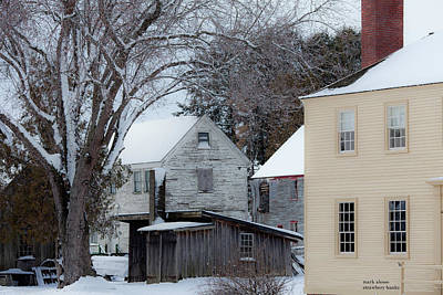 Photograph - Colonial Portsmouth by Mark Alesse