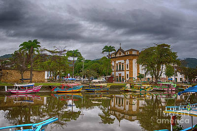 Photograph - Colonial Town Of Paraty by Pravine Chester