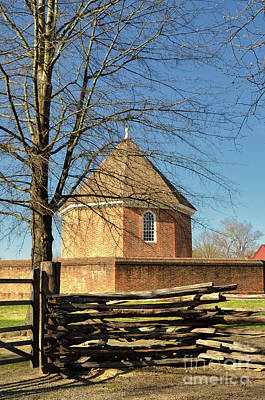 Photograph - Colonial Williamsburg Armoury by Lois Bryan