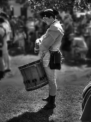 Colonial Actors Photograph - Colonial Williamsburg  V14b by John Straton