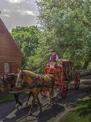 Colonial Actors Photograph - Colonial Williamsburg  V4 by John Straton