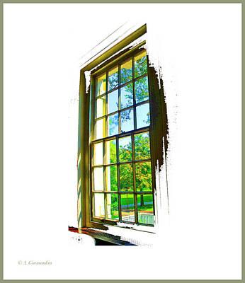 Photograph - Colonial Window by A Gurmankin