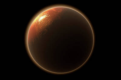 Cosmology Digital Art - Colonization Of Mars by Allan Swart