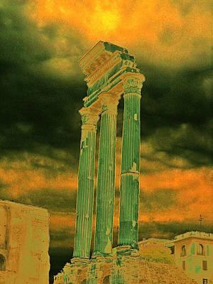 Colonna Art Print by Yury Bashkin