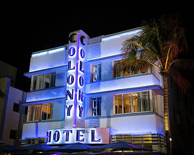 Photograph - Colony Hotel by Penny Meyers