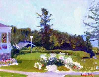 Painting - Colony Putting Green by Candace Lovely