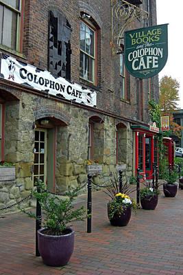Colophon Cafe Art Print by Matthew Adair