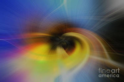 Photograph - Color Abstract I by Debra Fedchin