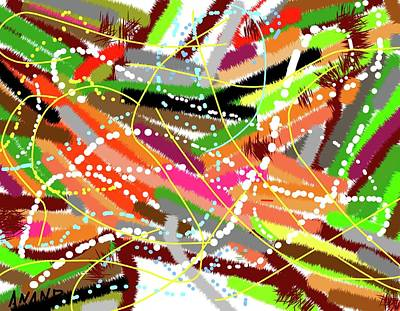 Digital Art - Color Abstraction-5 by Anand Swaroop Manchiraju