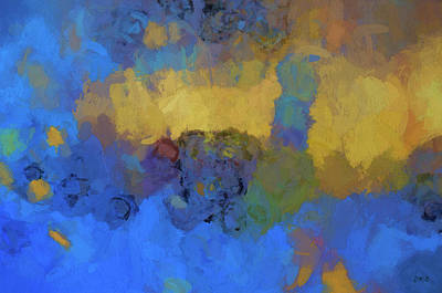 Digital Art - Color Abstraction Lviii by David Gordon
