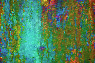 Photograph - Color Abstraction Lxvii by David Gordon