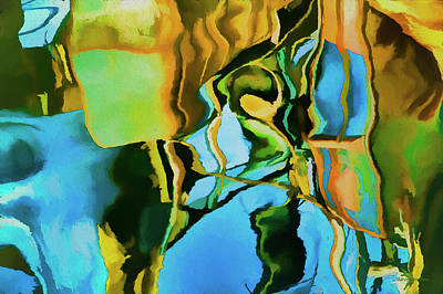 Color Abstraction Lxxiii Art Print by David Gordon