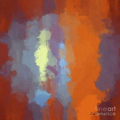 Gordan Digital Art - Color Abstraction Xxiii Sq by David Gordon