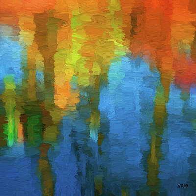 Digital Art - Color Abstraction Xxxi by David Gordon