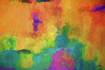 Digital Art - Color Abstraction Xxxiv by David Gordon