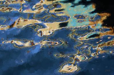 Nonrepresentational Photograph - Color Abstraction Xxxvii - Painterly by David Gordon