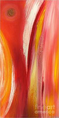 color and passion B Art Print by Mimo Krouzian