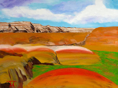 Color Badlands Original by Troy Thomas
