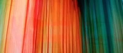 Color Bands Art Print