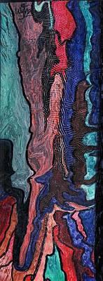 Color Blend Art Print by Wytse