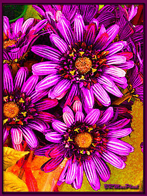 Color Bright Art Print by Barbara MacPhail