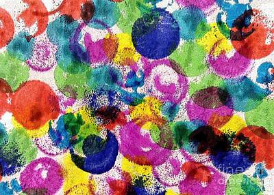 Painting - Color Bubbles by Barbie Corbett-Newmin