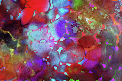Color Burst Art Print