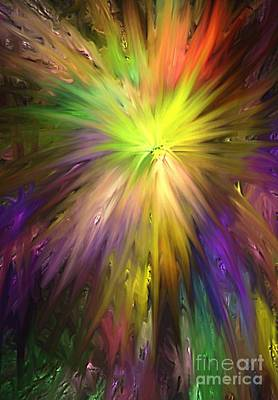 Digital Art - Color Burst by Greg Moores