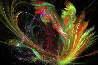 Digital Art - Color Burst by John Knapko