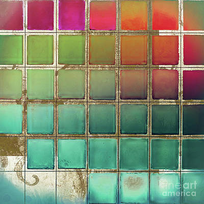 Chip Painting - Color Chart Multi by Mindy Sommers