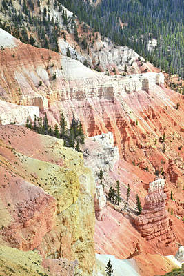 Photograph - Color Cliffs by Ray Mathis