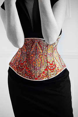 Art Print featuring the photograph Color Corset by Andrey  Godyaykin