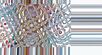 Color Crystal Art Print by Thomas Smith
