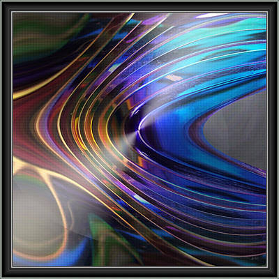 Digital Art - Color Curves by Kiki Art