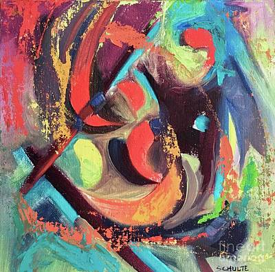 Painting - Color Dance by Lynne Schulte
